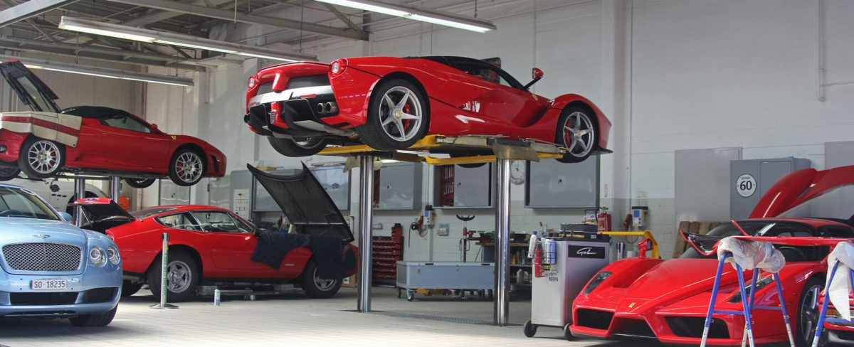 Car Repair Garage Dubai